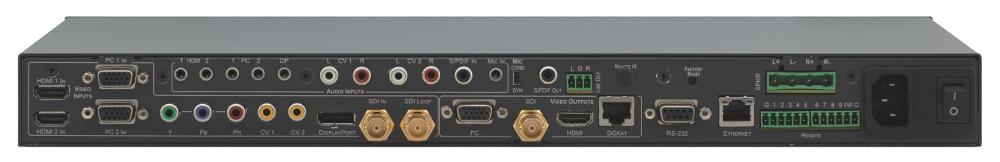 9-Input ProScale Presentation Switcher/Scaler