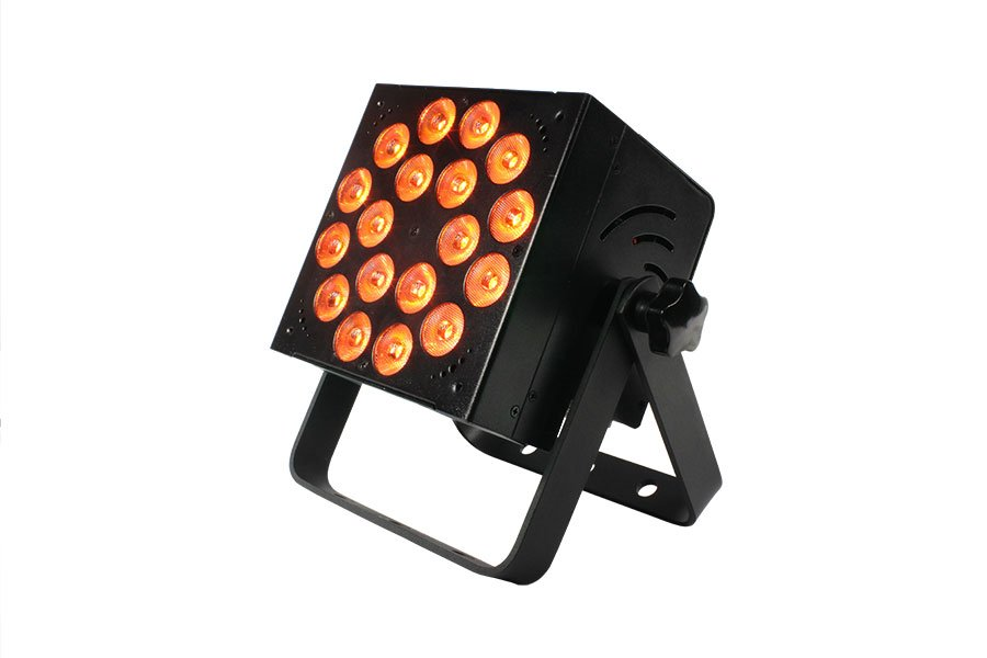 18 x 15W RGBAW 5-in-1 LED Wash Fixture