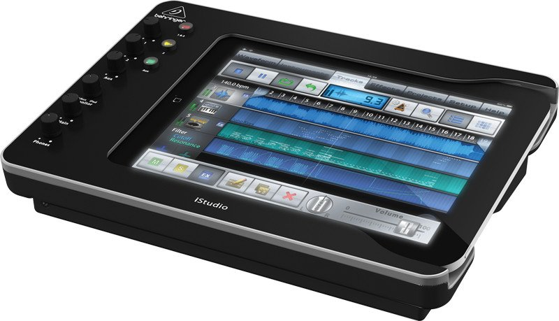iPad Docking Station with Audio, Video and MIDI Connectivity