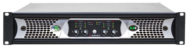 4x3000W 2-Ohm Networkable Power Amplifier
