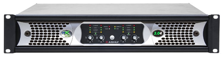 4-Channel 2000W @ 4 Ohm Network Power Amplifier with DSP