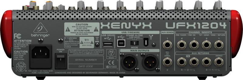 12-Input USB and Firewire Mixer