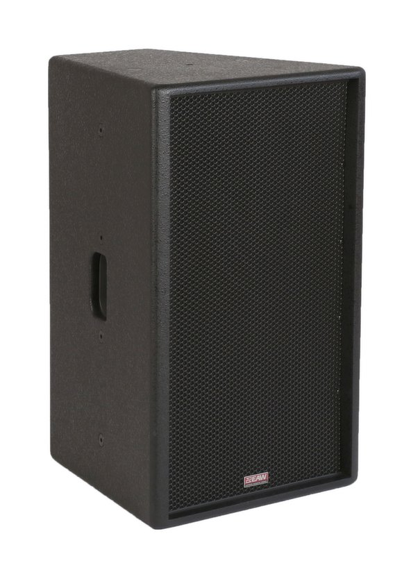 "12"" 2-Way 500 Watts at 8 Ohms Passive Loudspeaker in Black, 90°x60° Dispersion"