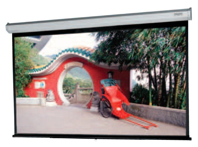 """65"""" x 104"""" Model C with CSR (Controlled Screen Return) - 16:10 Wide Format Screen"""