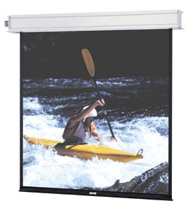 "Da-Lite 84303L 120"" x 160"" Advantage Electrol® Matte White Screen with LVC 84303L"