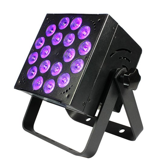 18x15W 5-in-1 LED Ultraviolet Fixture