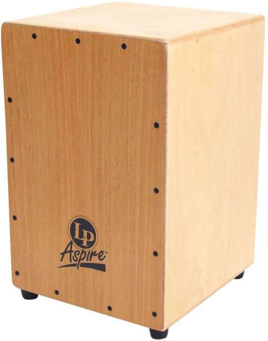 Latin Percussion LPA1331 Aspire Cajon with 3 Sets of Internal Snare Wires LPA1331