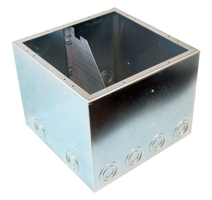 "8"" Full Back Box with Isolation Bracket"