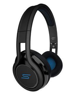 On-Ear Wired Headphones in Black