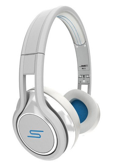 On-Ear Wired Headphones in White