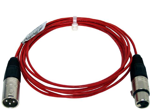 75' XLR-M to XLR-F Plenum Cable