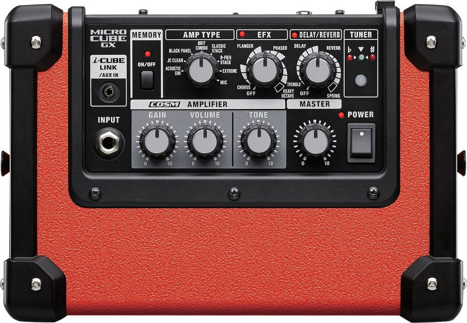 """3W 1x5"""" Battery-Powered Modeling Combo Guitar Amplifier in Limited Edition Red"""