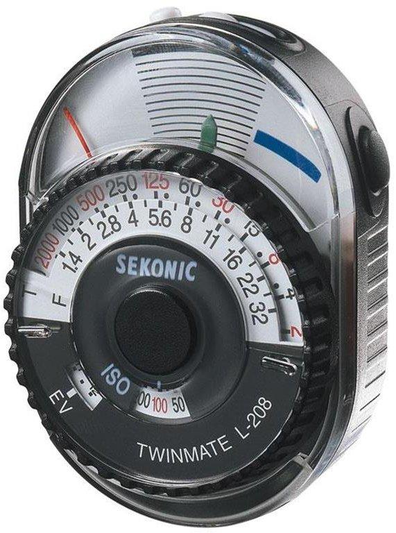 Sekonic L-208 TwinMate Analog Light Meter 401-208