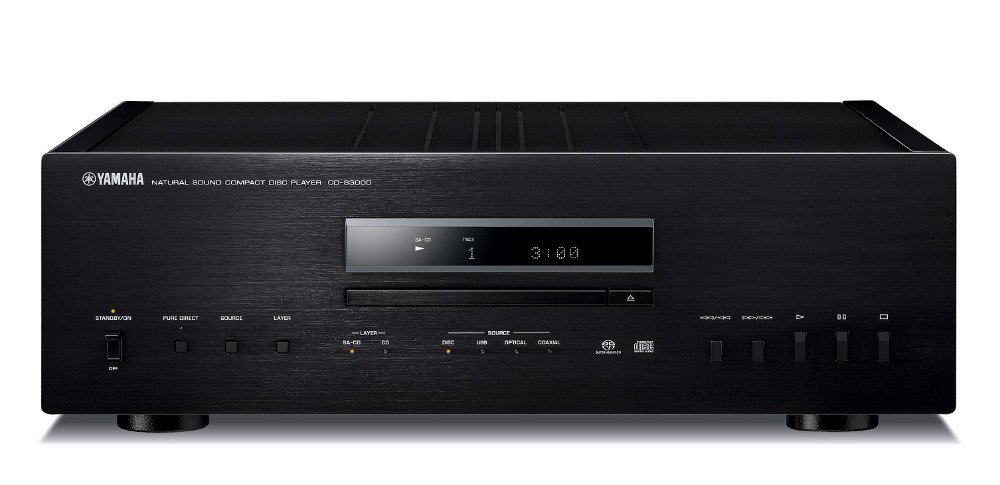 Natural Sound CD Player in Black