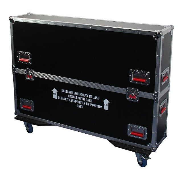"Gator Cases G-TOURLCDV2-4350 G-TOUR ATA Flight Case for 43"" -50"" Flat Screens G-TOUR-LCDV2-4350"