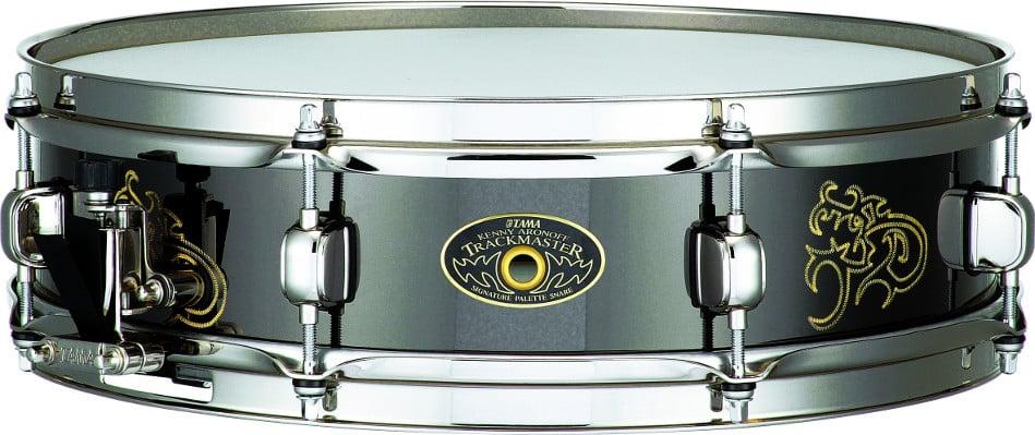 "4""x15"" Kenny Aronoff ""Trackmaster Super Piccolo"" Brass Signature Snare Drum"