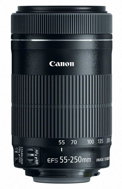 EF-S 55-250mm f/4-5.6 IS STM Telephoto Zoom Lens