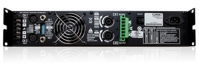 CMX Series 2RU 300W @ 4 Ohms Stereo Power Amplifier