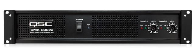 CMX Series 2RU 800W @ 4 Ohms Stereo Power Amplifier