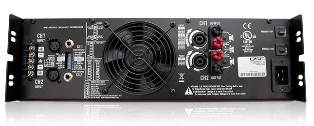 RMX Series 1400W-Channel @ 4 Ohms Stereo Power Amplifier