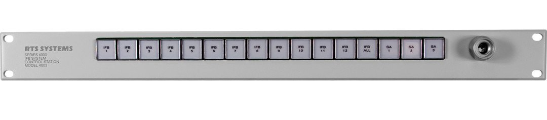 12-Position Control Station for 12 IFB and 3 SA