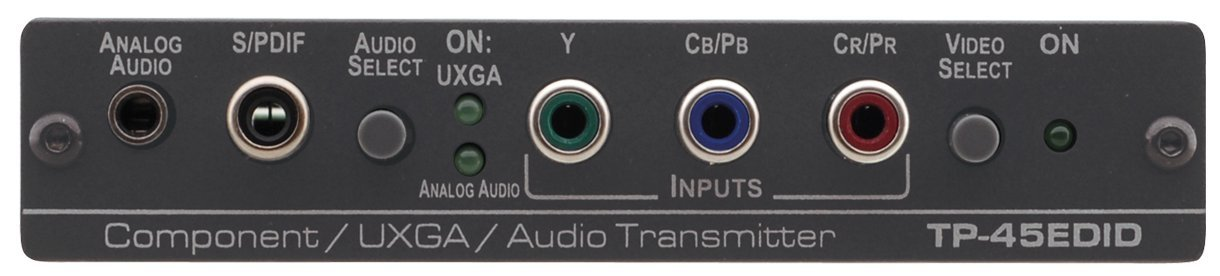 Component Video or Computer Graphics Video with Audio over Twisted Pair Transmitter with EDID