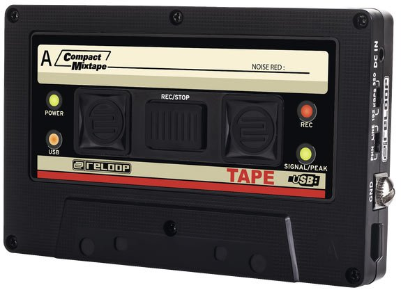 Reloop Tape USB Mixtape Recorder TAPE