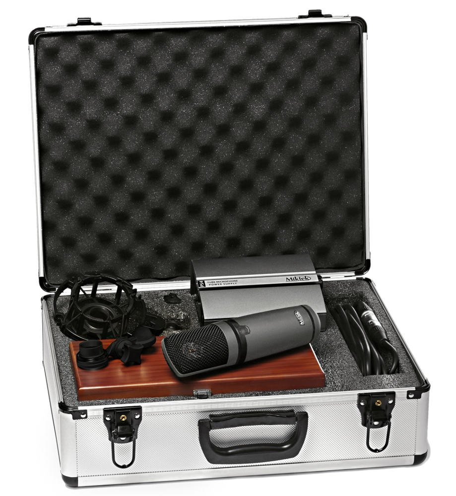 Large Diaphragm Multi-Pattern Tube Condenser Microphone