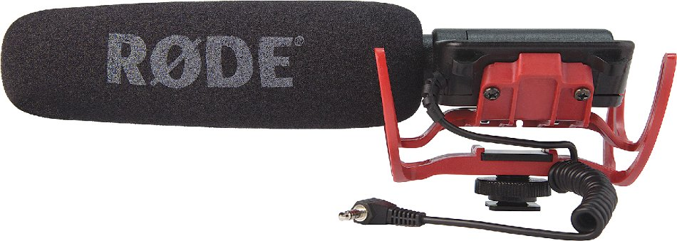Shotgun Microphone with Integrated Rycote Lyre Suspension