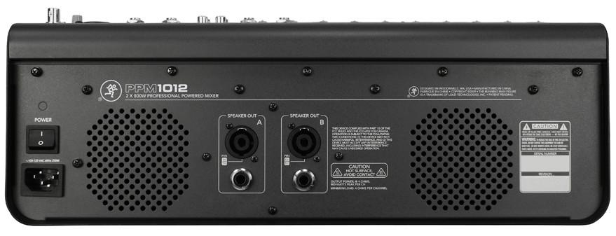 12-Channel 1600W Desktop Mixer