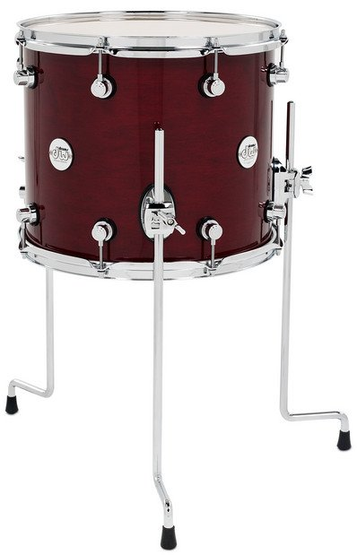 "12"" x 14"" Design Series Floor Tom in Cherry Stain Finish"