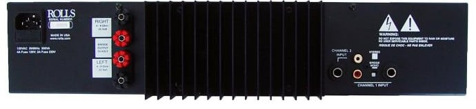 100W RMS Per Channel at 4 Ohms Stereo Amplifier