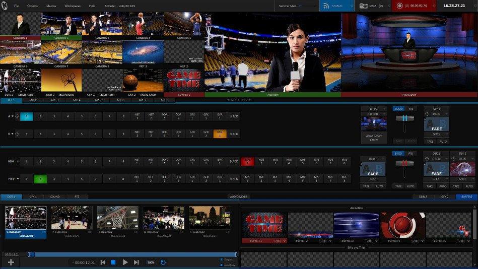 NewTek TriCaster 8000 Live Video Production System TRICASTER-8000