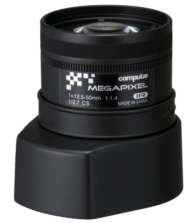 """A"" Series 12.5-50mm Megapixel IR Lens with CS Mount"