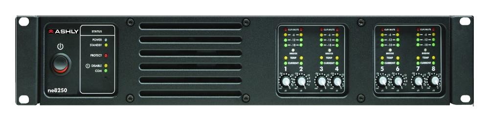 8 Channel 250W@ 4 Ohms Power Amplifier