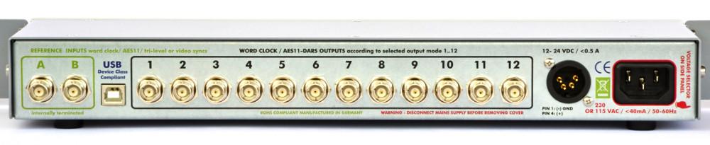 Digital Audio Word Clock Genlock Masterlock