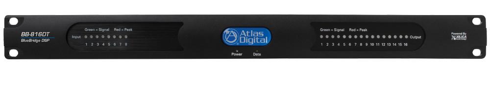 Atlas Sound BB-816DT 8 Input x16 Output DSP Audio Processor Dante BB-816DT