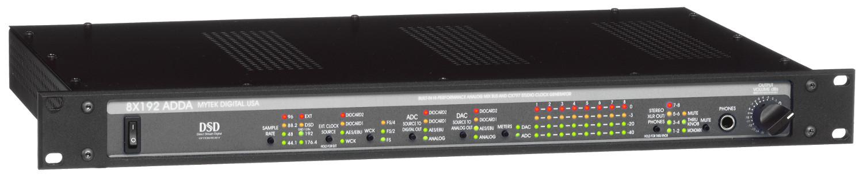 8-Channel 192kHz/DSD Hi-Performance A/D and D/A Converter