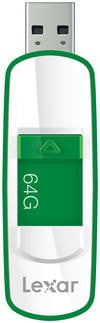 64GB JumpDrive® S73 USB 3.0 Flash Drive in Green
