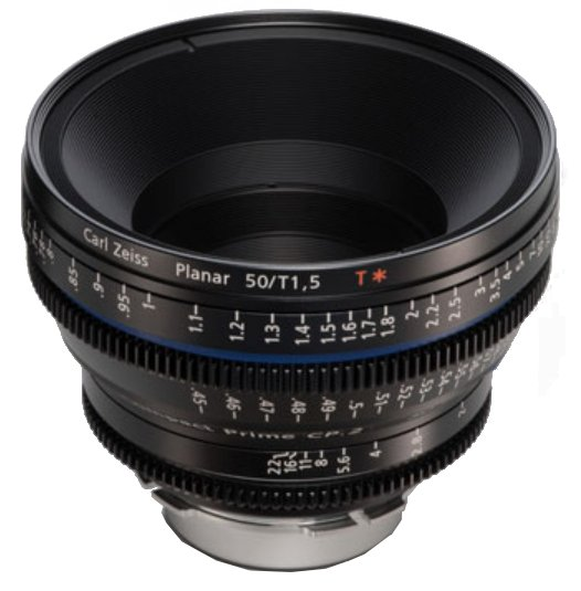 50mm f-1.5 Compact Prime CP.2 Super Speed Lens with 1956-597 EF Mount