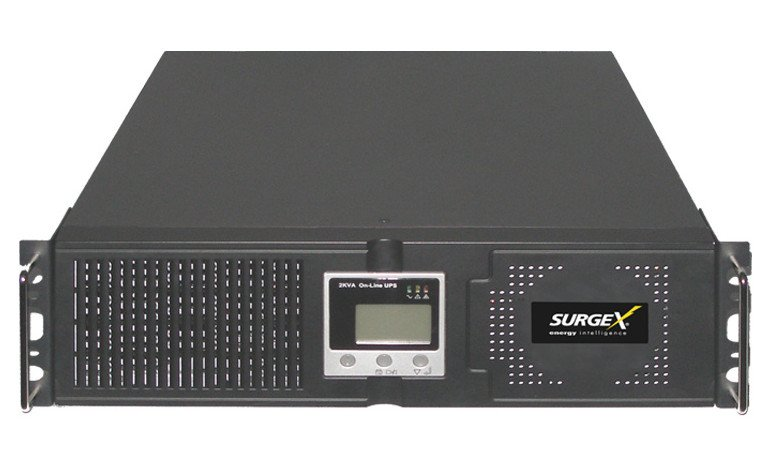 SurgeX UPS-3000-OL 3RU 30A 3000VA 5-Outlet Standalone Battery Backup | Full  Compass