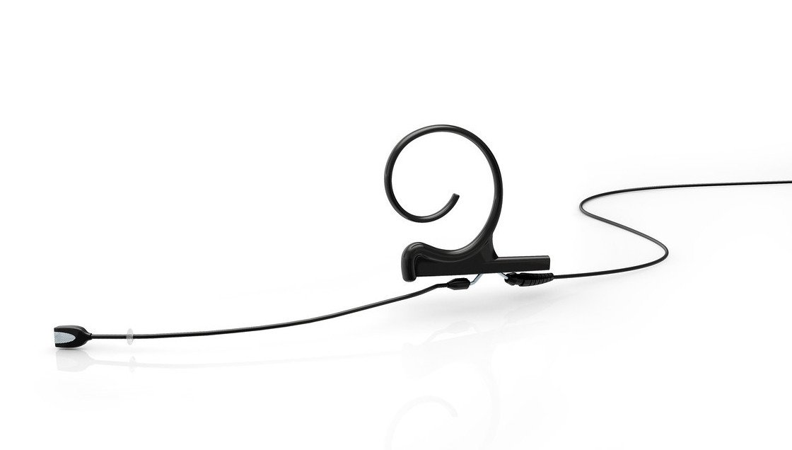 d:fine Black Single-Ear Cardioid Headset Microphone