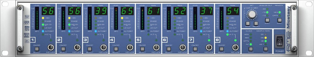 8-Channel Full-Range Preamp and AD Converter