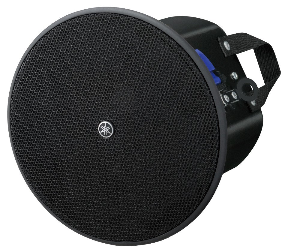 "4"" 8 Ohm/70V Ceiling Speaker in Black"