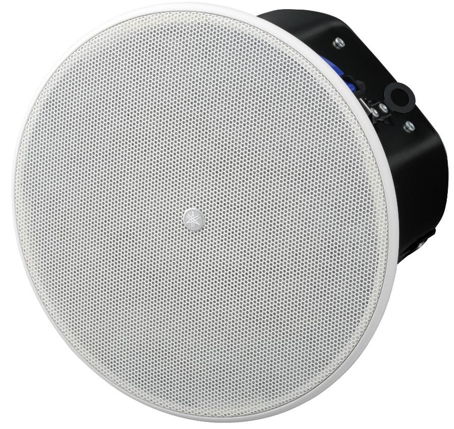 """6"""" 8 Ohm/70V Ceiling Speaker in White"""