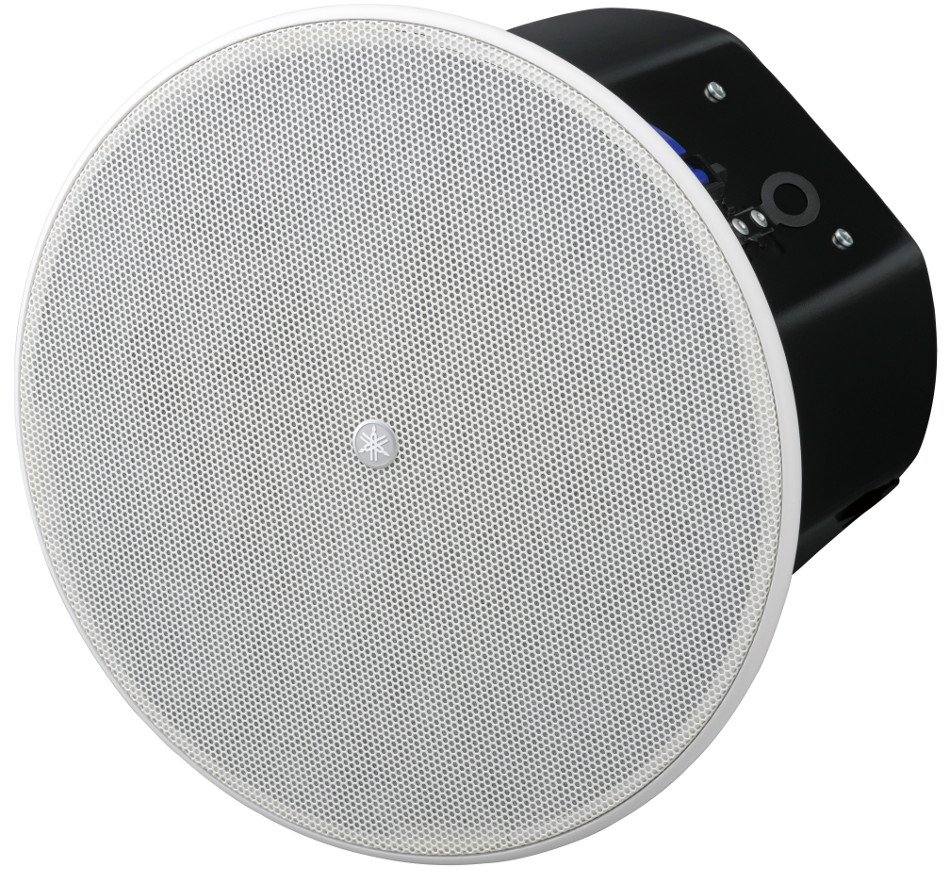 """8"""" 8 Ohm/70V Ceiling Speaker in White"""