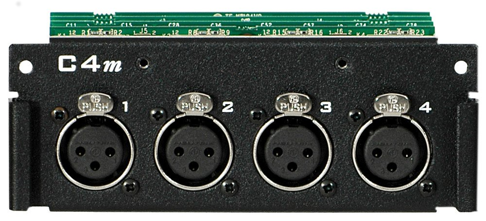 Mic/Line Input Card for the AllFrame