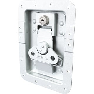 Grundorf Corp 34-104  Key Locking Recessed Latch 34-104