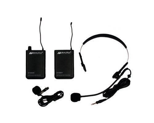 16-Channel Wireless Microphone UHF Kit
