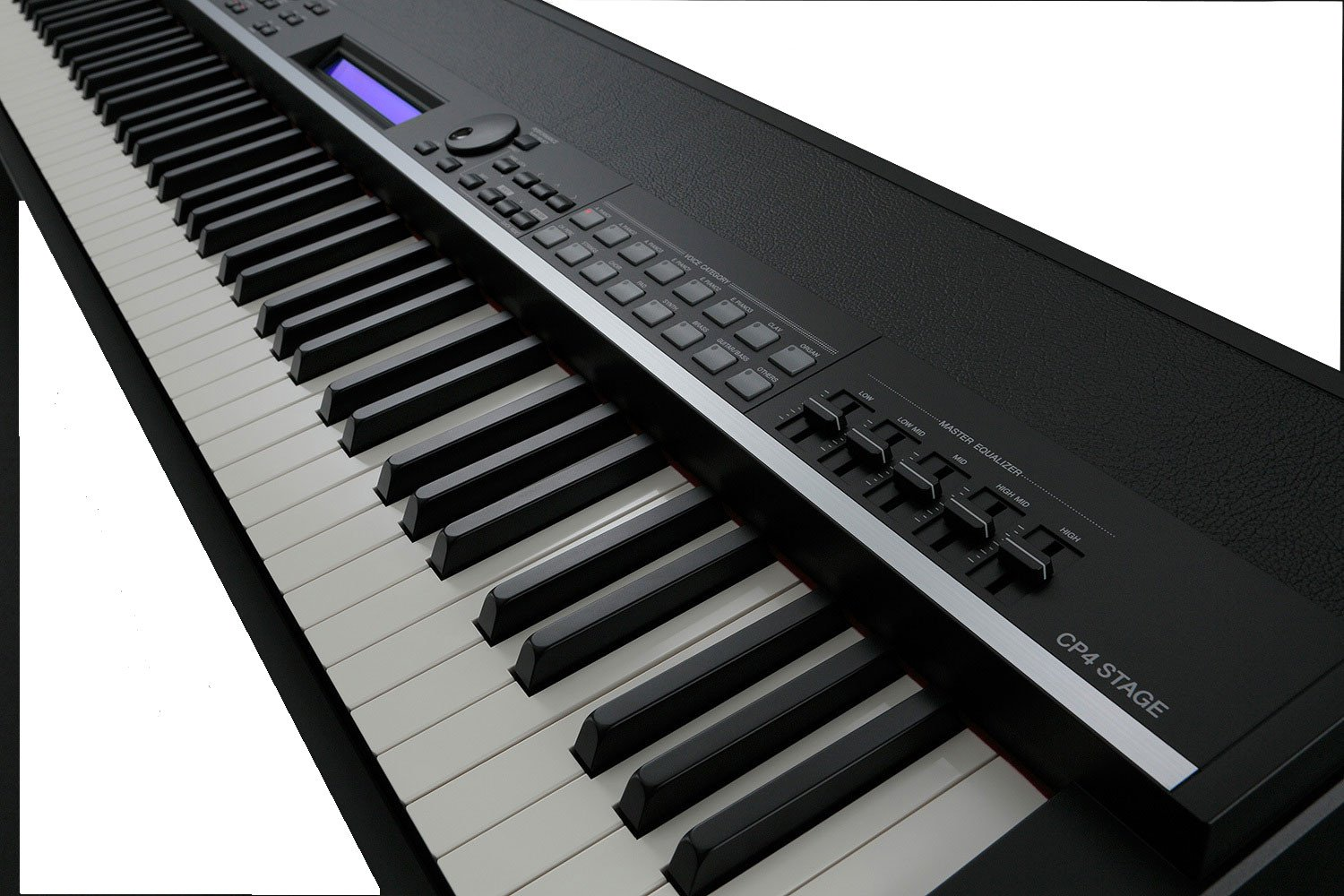 Yamaha cp4 stage professional digital piano full compass for Yamaha professional keyboard price